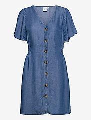 ICHI - IHLAMBREY DR3 - summer dresses - medium blue - 1
