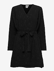 ICHI - IHVIVIANA DR - wrap dresses - black - 0
