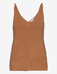ICHI - IHCAMAS TO2 - knitted tops - caramel - 0