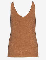 ICHI - IHCAMAS TO2 - knitted tops - caramel - 1