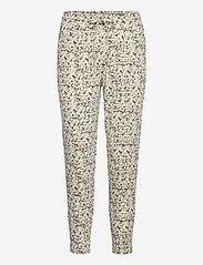ICHI - IHKATE PRINT PA5 - casual trousers - swamp - 0