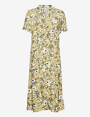 ICHI - IHEDIE DR - midi dresses - golden mist - 0