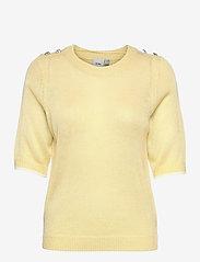ICHI - IHLAUREL SS - knitted tops - golden mist - 0