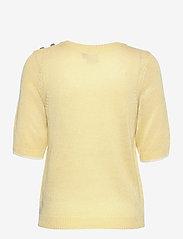 ICHI - IHLAUREL SS - knitted tops - golden mist - 1