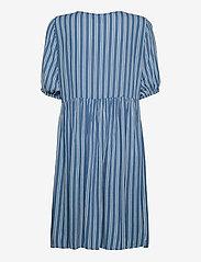 ICHI - IHMARRAKECH AOP DR7 - summer dresses - coronet blue - 1