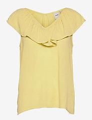 ICHI - IHMARRAKECH SO TO3 - short-sleeved blouses - golden mist - 0