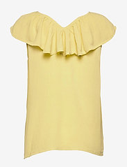 ICHI - IHMARRAKECH SO TO3 - short-sleeved blouses - golden mist - 1