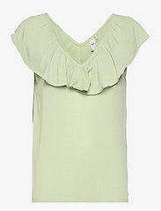 ICHI - IHMARRAKECH SO TO3 - short-sleeved blouses - swamp - 0