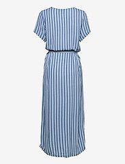 ICHI - IHMARRAKECH AOP DR - midi dresses - coronet blue - 1