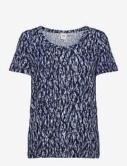 ICHI - IHLISA SS4 - t-shirt & tops - cashmere blue - 0