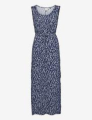 ICHI - IHLISA DR13 - maxi dresses - cashmere blue - 0
