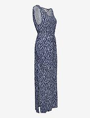 ICHI - IHLISA DR13 - maxi dresses - cashmere blue - 3