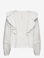 ICHI - IHVAIANA LS - long sleeved blouses - cloud dancer - 1
