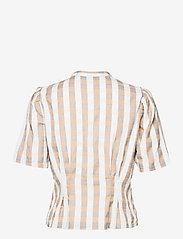 ICHI - IHJULYA SH - short-sleeved shirts - tan - 1