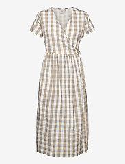ICHI - IHJULYA DR - summer dresses - tan - 0