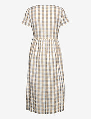 ICHI - IHJULYA DR - summer dresses - tan - 1