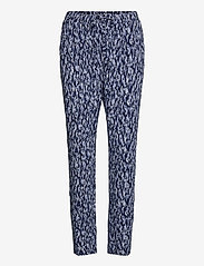 ICHI - IHLISA PA7 - casual trousers - cashmere blue - 0