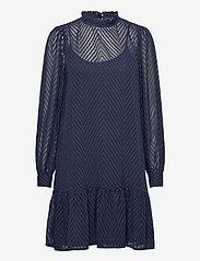 ICHI - IXDONA DR - everyday dresses - total eclipse - 0