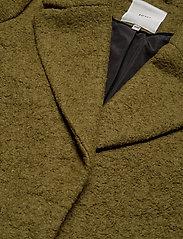 ICHI - STIPA JA - wool coats - fir green - 2