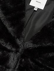 ICHI - SIMPO JA - faux fur - black - 2