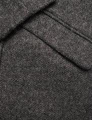 ICHI - IHHENRIKA JA - wool coats - dark grey melange - 3