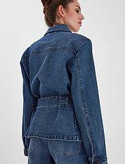 ICHI - IHNICOLE JA - denim jackets - medium blue - 4