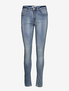 IHERIN IZARO LIGHT BLUE BLEACHED - skinny jeans - bleached light blue