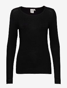 IHMAFA ROUND LS - jumpers - black