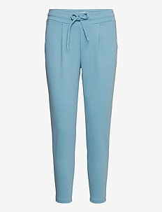 IHKATE PA CROPPED - casual trousers - delphinium blue