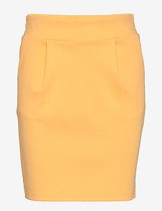 IHKATE SK - korte nederdele - buff yellow