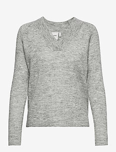 IHAMARA V LS - jumpers - grey melange