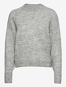AMARA LS - swetry - grey melange