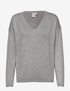 IHMAFA V LS2 - jumpers - grey melange
