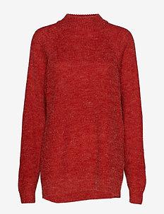 IHMARAT T-NECK LS2 - truien - pompeian red