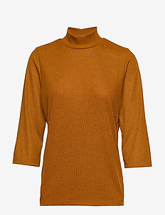 IHLAND MS - turtlenecks - mlg buckthorn brown