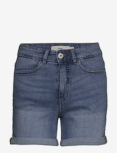 IHTWIGGY SHO - denimshorts - light blue