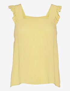 IHMARRAKECH SO TO2 - sleeveless blouses - golden mist