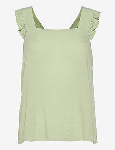 IHMARRAKECH SO TO2 - sleeveless blouses - swamp