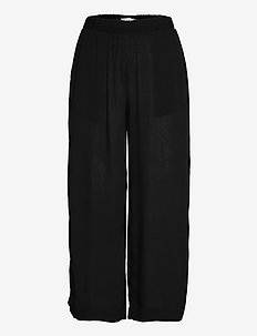 IHMARRAKECH SO PA - casual trousers - black