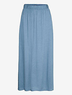 IHMARRAKECH SO SK3 - midi skirts - coronet blue