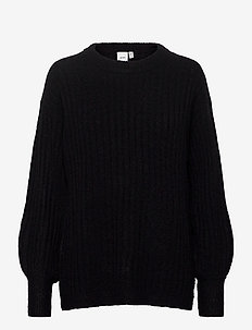 IHAMARA LS RIB - jumpers - black
