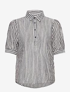 IHCAJUN SS - overhemden met korte mouwen - total eclipse