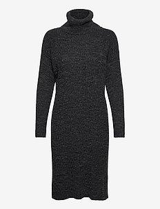 IHNOVO DR3 - gebreide jurken - black