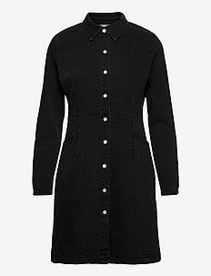 IHOLINA DR - blousejurken - washed black
