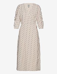 IHLYLA DR - wrap dresses - tapioca
