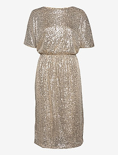 IHJOLENE DR - cocktail dresses - frosted almond