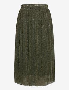 IHJAKOBINE SK - midi skirts - kombu green