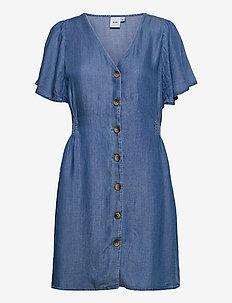 IHLAMBREY DR3 - summer dresses - medium blue