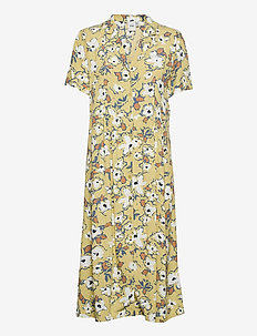 IHEDIE DR - midi dresses - golden mist