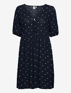 IHMARRAKECH AOP DR7 - summer dresses - total eclipse dot